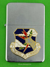 SAC  STRATEGIC AIR COMMAND WIND PROOF PREMIUM LIGHTER IN A GIFT BOX  USAF SB52
