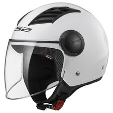 Casco Ls2 Airflow Of562 Jet Gloss White M