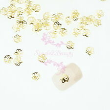 500 Hollow Out Summer Ocean Shell Style Metallic Slice Studs Nail Art Manicure