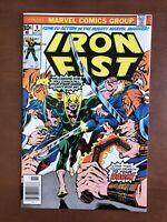 Iron Fist #9 (1976) 8.5 VF Marvel Bronze Age Comic Book High Grade Newsstand