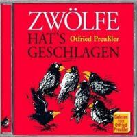 OTFRIED PREUßLER - ZWÖLFE HAT'S GESCHLAGEN  CD  8 TRACKS KINDERHÖRSPIEL  NEU