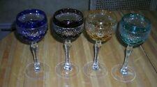 Set Of 4 Gorgeous Vintage Goblets