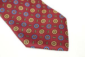 MANFREDI Silk tie Made in Italy F14415