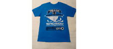NEW! Bad Boy Badboy MMA Mixed Martial Arts Men's T Shirt - Blue - Sz L
