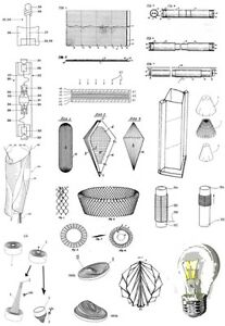 Papierlampen Lampe aus Papier selbst bauen 1100 Seiten