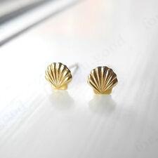 Fashion Sea Shell Earrings Seashell Stud Earrings Beach Conch  Mermaid Jewelry