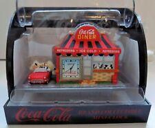 mini clock pendule COCA COLA DINER