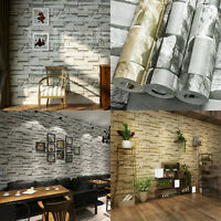 3D Brick Stone Wallpaper Roll Mural Modern Retro Wall Background Bedroom Decor