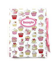 bettina bruder® innen 30 Sichthüllen Cupcake Patchwork Rezeptmappe DIN A4