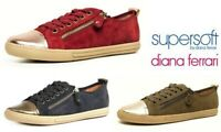 Supersoft Shoes by Diana Ferrari comfort dress zip sneakers Supersoft Alfie