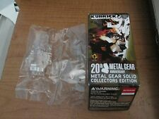 Medicom Kubrick Metal Gear Solid 20th Anniversary Stealth Solid Snake Clear NEW
