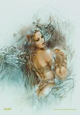 """LUIS ROYO FLAGGE / FAHNE """"657 PROHIBITED SKETCHBOOK"""" POSTER FLAG"""