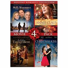 Holiday Romance Collection Movie 4 Pack A Christmas Kiss, Holiday Engagement, T