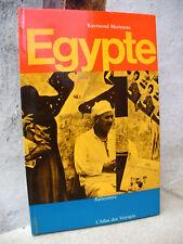 Atlas des voyages: Egypte, 1964 Morineau