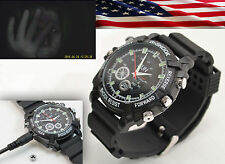 1080p Waterproof Spy Watch Infrared Night Vision Camera Sound Detect Video IR