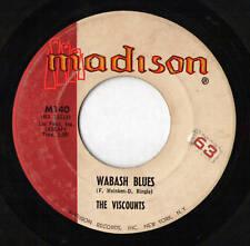 The VISCOUNTS - Wabash Blues / So Slow - 45 RPM (1960)