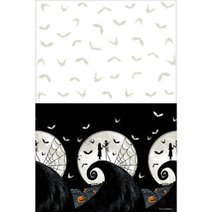 Nightmare before Christmas Party Table Cover Jack Skellington Halloween Party