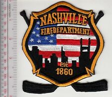 Firefighter Tennessee City of Nashville Fire Department Ice Hockey Team Patch