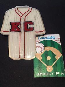 Jackie Robinson jersey lapel pin-Kansas City Monarchs-Collectable-Jumbo size