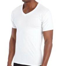 Hanes Half Sleeve Undershirt Tshirt - White
