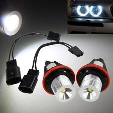2Pcs LED Standlicht Angel Eyes 5W 6000K Marker Licht Für BMW E39 E53 E60 E61