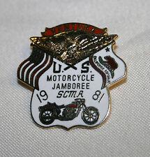 VINTAGE 1981 U.S. MOTORCYCLE JAMBOREE SCMA VENTURA