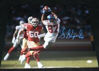 STERLING SHEPARD AUTOGRAPHED SIGNED NEW YORK GIANTS 16x20 PHOTO JSA