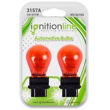 2 x 3157 A 183 Amber 12 V 27/7W Luce Indicatore Auto Lampadine Wedge base W2.5x16Q