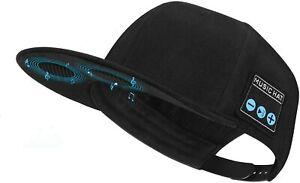Hat with Bluetooth Speaker Adjustable Bluetooth Hat Wireless Smart Speakerphone