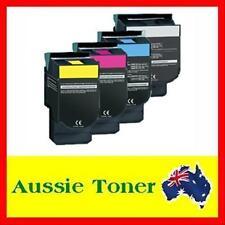 4x Toner Cartridge C540H1YG C540H1KG C540H1MG C540H1CG for Lexmark C540 C543