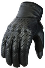 Gants articulation en cuir pour motocyclette