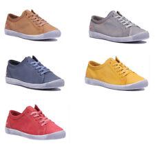 Softinos Isla Women Soft Leather Navy Derby Shoes Uk Size 3 - 8