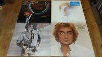 4 x Barry Manilow Vinyl LP Albums 33rpm Barry / Paradise Cafe / Best Of  + 1