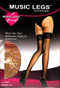 NEW Black, White, Natural Seamed Tights, Stockings and Thigh-High Hold-Ups