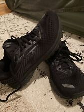 Brooks Ghost 12 All Black Almost Perfect Condition Womens USA 9 EUR 40.5 26cm