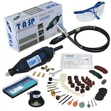 Dremel Variable Rotary Speed Tool Power 220v Electric Kit Corded 130w Mini Drill