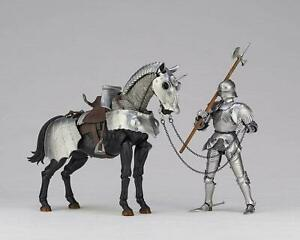 KTKT27: KT27 Takeya Style Jizai Okimono 15th Century Gothic Equestrian Armor