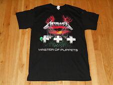 METALLICA MASTER OF PUPPETS ALBUM COVER CONCERT TOUR T-SHIRT MENS MEDIUM LARS