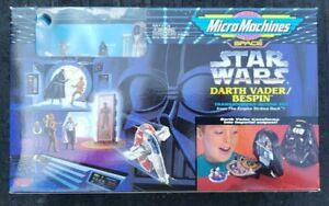 Micro Machines Star Wars Darth Vader/Bespin Transforming Action Set 1996 MISB