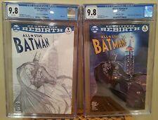 All Star Batman #1 CGC 9.8 Aspen Comics Turner Color & B&W Sketch Variants - 2