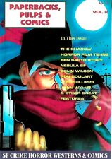 PAPERBACK PULP AND COMIC COLLECTOR MAGAZINE VOL2  EX CONDITION