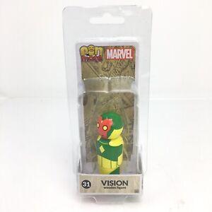 Marvel Vision #31 Pin Mate Wooden Figure Avengers 2017