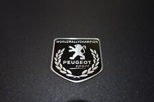 Peugeot Sport WRC Embossed Metal Badge Emblem Sticker Logo 208 308 508 GTI SUV