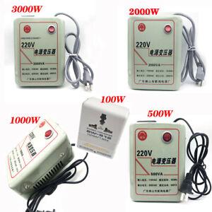 110V to 220V Transformer Step Down Voltage Converter 100W 500W 1000W 2000W 3000W