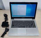 "Asus Vivobook S400c Touchscreen Laptop 14"" I5-3317u 4gb 128gb Ssd Windows 10"