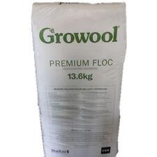 Hydroponics Growool Rock Wool Premium Grow Floc 13.6Kg Progagation Grow Medium