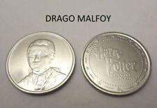 Pièce N°4 DRAGO MALFOY neuve / coin jeton pour album Harry Potter GRINGOTTS