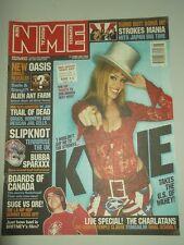 NME FEBRUARY 23 2002 OASIS SLIPKNOT KYLIE MINOGUE STROKES CHARLATANS FATBOY SLIM