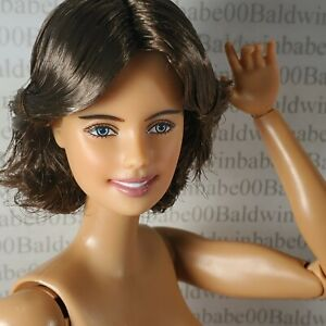 (H33) ~ NUDE BARBIE BRUNETTE INSPIRING WOMEN BILLIE JEAN KING CEO DOLL FOR OOAK