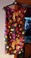 Kaliko Size 16 Floral Patterned Dress Sleeveless